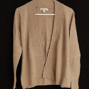 BR wool cashmere cardigan
